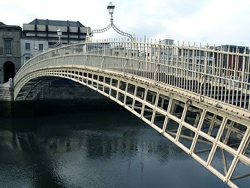Ha, Penny Bridge Dublìn